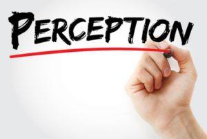 mot perception souligné